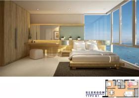 泰国芭堤雅2卧的公寓