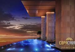 芭提雅Copacabana一线海景公寓2卧