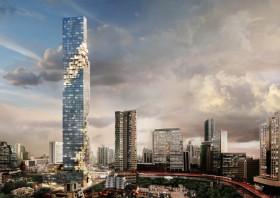 泰国曼谷4卧6卫的公寓