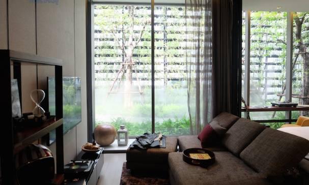 曼谷Ashtom Silom公寓2卧