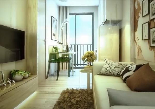 曼谷Rich Park Triple公寓1卧