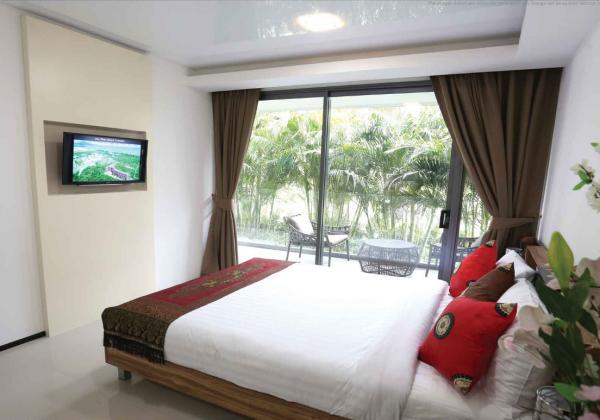 普吉岛迈考海滩公寓酒店2卧