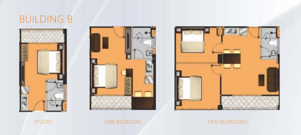 B栋户型图