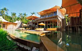 泰国达叻沽岛5卧5卫的独立别墅
