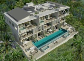 泰国苏梅岛3卧的公寓
