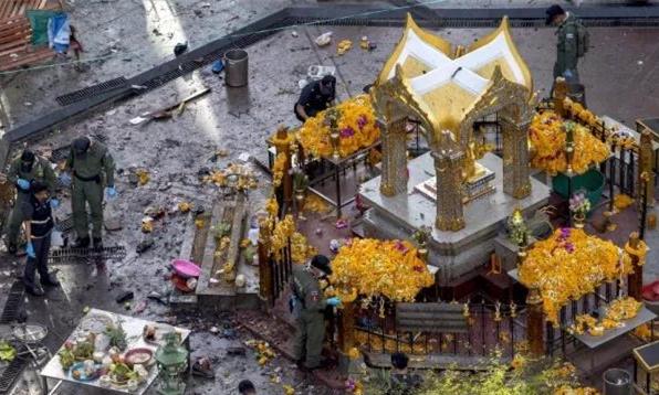 泰国曼谷四面佛爆炸案1女嫌犯终落网!