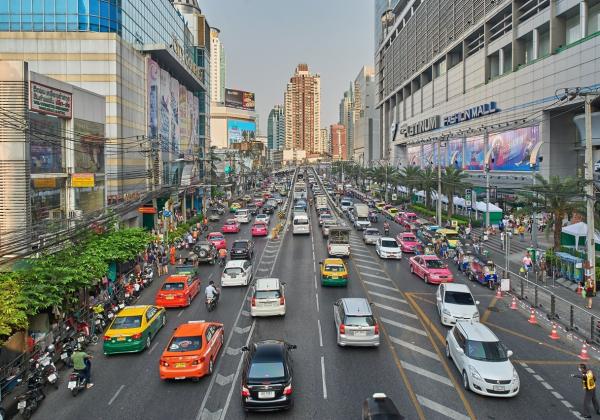 在曼谷最有潜力的区域中,有一个叫phaya thai的